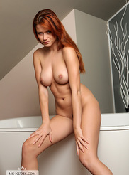 Beautiful Redhead Babe 04