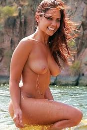 Nude in the Lagoon