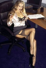 Sexy Secretary Lauren